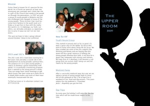 Youth Work Brochure thumb