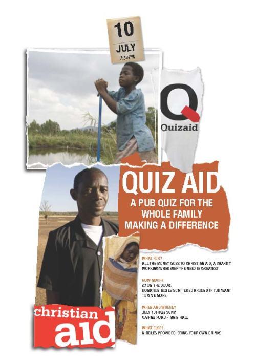 Quiz Aid Poster